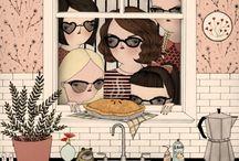 Mai Ly Degnan illustrations