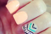 Nails and makeup / by Brooke Cowan