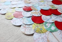 cool use of old maps / by Jeanne Monaco