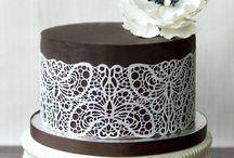 csipkés torták