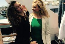 Alycia DC & Eliza Taylor