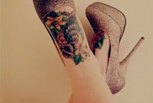 Tattoo inspiration for girls / Pretty girls with great tattoos