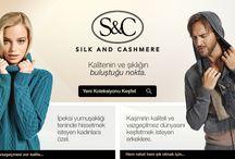SILK AND CASHMERE / Silk and Cashmere ayrıcalığı ile şıklığınızı tamamlayın!