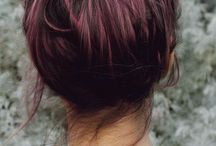Red wine ombre
