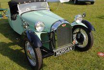 Morgan 3 wheeler  -  Light blue F2