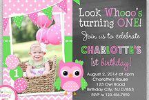 zoes owl birthday