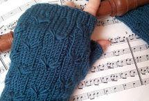 Knit - gloves