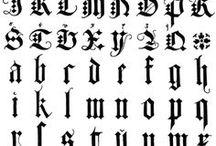 Calligraphy【Gothic】
