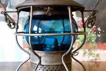Kolejowe lampy