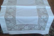 lace and fabric / Eski dantelleri modernize etmek