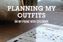 iPhone outfit organiser