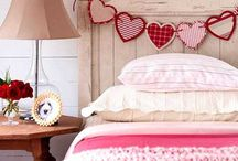Valentine's Home Inspiration / Valentine's can be a great opportunity to treat yourselves to a new bed or comfy sofa, and why not add a little themed decoration into your home?