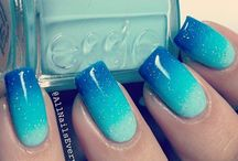 Nails / OMG these nails are amazing! And I love ombres