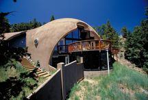 Купольные, сферические дома - geodesic dome home