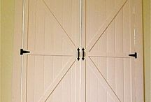 Shutters and barn doors
