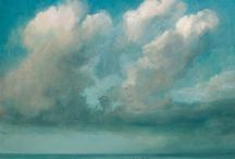 Clouds5 / Painting