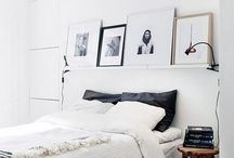 B E D R O O M / minimal scandinavian bedrooms for a relaxing night of sleep