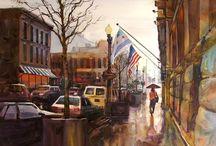 David R BeckerArt Paintings / Artwork I have done