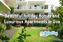 Holiday Apartment in North or South Goa