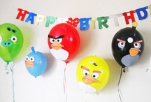 Angry Birds Party / Great ideas for making Angry Birds party favors and treats.
