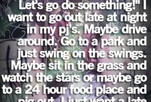 My Bucket List <3