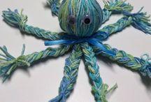 Yarn crafts - Garn pyssel