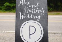EVENTS: Wedding Signage