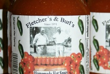 Hot Sauce / Fletcher's and Burl's Homemade Hot Sauce and Tobasco since 1951. Like us on Facebook...