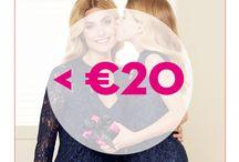 #LUCKYMOM - cadeaus <20€ / Maak van je mama een #LuckyMom en schenk haar een leuk cadeautje van ICI PARIS XL. Bij ons vind je geschenken voor ieders budget.