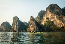 Kayaking Vietnam / Kayaking trips in Vietnam, by Tofino Expeditions