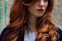 redhead style