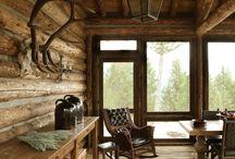 Log Home/Cabin Living