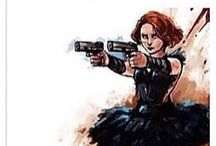 Black Widow is a Badass