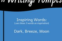 #WritingPrompts To Use