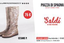 Saldi di Fine Stagione / Piazza di Spagna Outlet- Zona industriale Sogliano Cavour (Lecce) Mail: info@piazzadispagnaoutlet Ph. +39.0836.543841