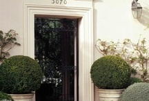 Ideas for Boxwood Balls / Our artificial Boxwood Balls are perfect for adding interest and shape to a garden or entrance, they are suitable for use outdoor and work well ,mixed with real plants or planted in planters to frame a doorway.  On this board some of the images are real Boxwood but the same look can be re-created using artificial.  Our artificial Boxwood Balls come in 7 sizes, small to huge,  the foliage is 5cm deep, a two-tone green, with miniature seed-heads dotted about so they really do look great.