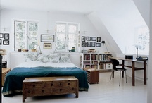 bedrooms / by Suzanne Brunelle