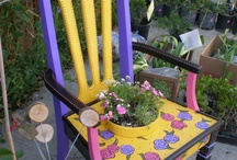 Whimsical Painted Chairs and more.......