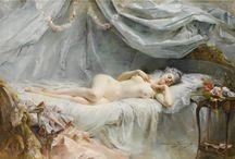 Art ,Madeleine Lemaire+J.William.