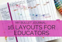 Bullet Journal- Teacher Style