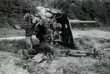 Weaponry / Weaponry with a story behind it in Bill Cheall's memoirs