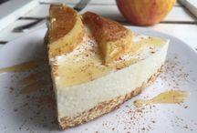Gezonde taart / Yoghurt,kaneel,appel