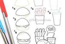 Słodkie rysunki =_=