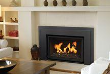 fireplace insert ideas