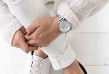 Inspiration   White sneakers / Read more about white sneakers in my blog >> sannenoorman.com