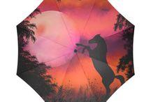 Umbrellas by Tracey Lee Art Designs