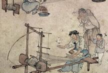 East Asia weaving