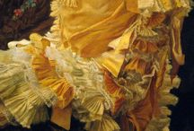 ART:  Women's Fashion - Gown Drapery, Fabric details / by Donna Morgan