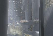 Scifi Cityscapes