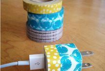 Washi Tape / Creative uses for washi tape!